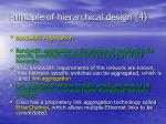principle of hierarchical design 4