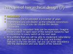 principle of hierarchical design 7