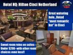 hotel hq hilton cinci netherland