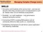 managing complex change cont20