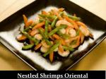 nestled shrimps oriental