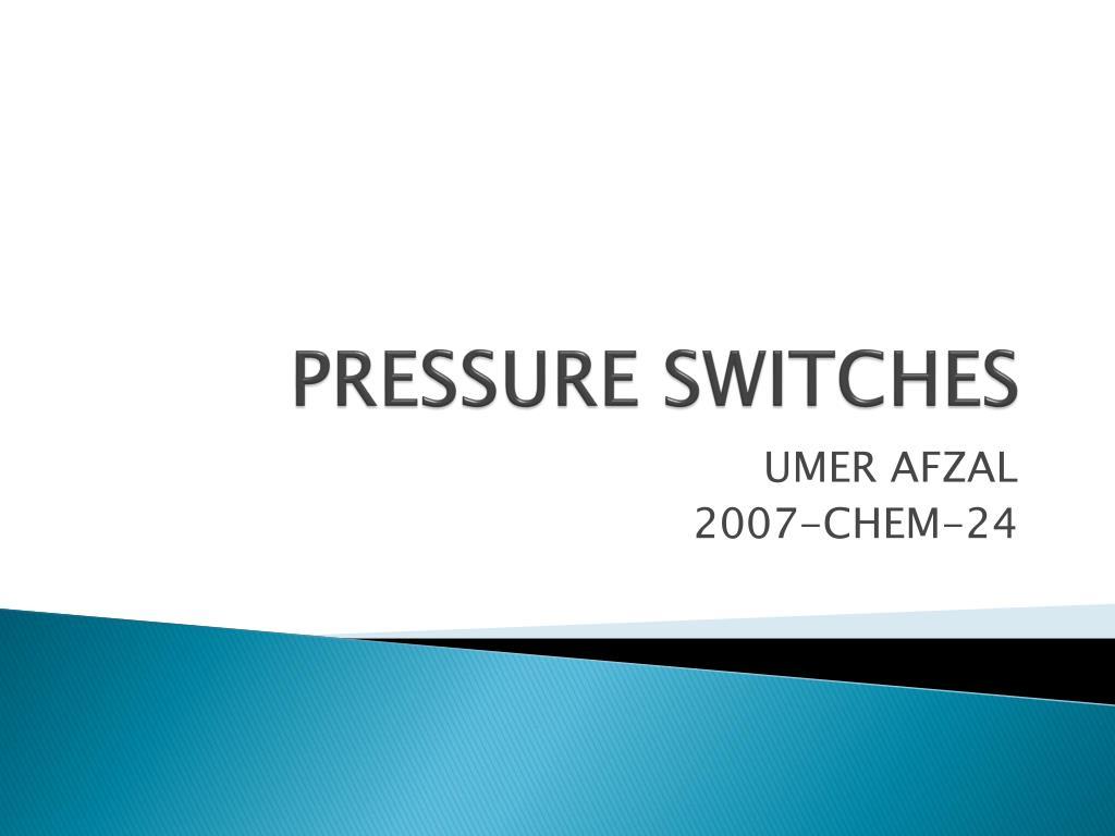 pressure switches l.