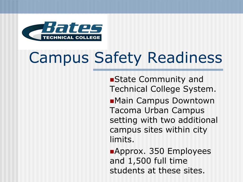 campus safety readiness l.
