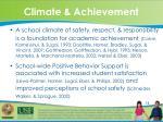 climate achievement