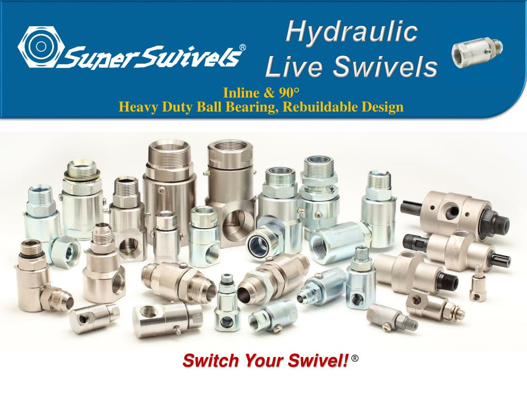 hydraulic live swivels l.