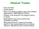 chemical trauma