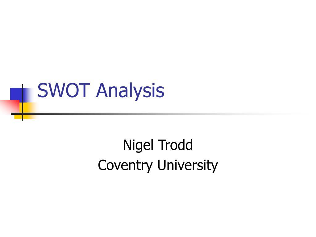swot analysis l.