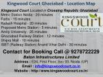 kingwood court ghaziabad location map