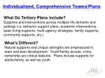 individualized comprehensive teams plans19