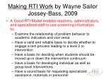 making rti work by wayne sailor jossey bass 2009