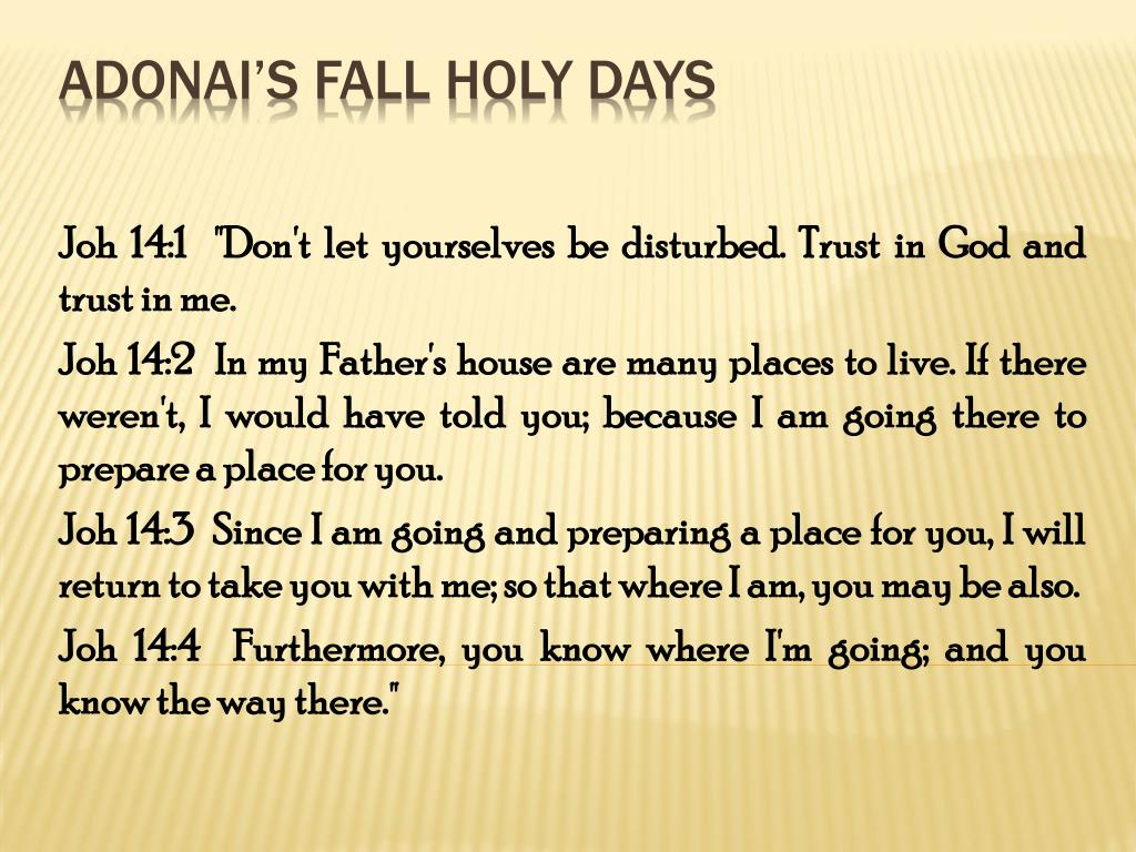 adonai s fall holy days l.
