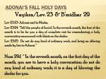 adonai s fall holy days17