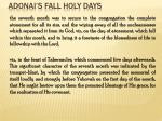 adonai s fall holy days30