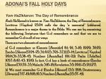 adonai s fall holy days33