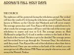 adonai s fall holy days34