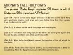 adonai s fall holy days9