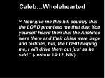 caleb wholehearted10
