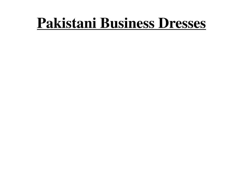 pakistani business dresses l.