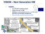 vision next generation km