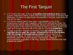 the first tarquin