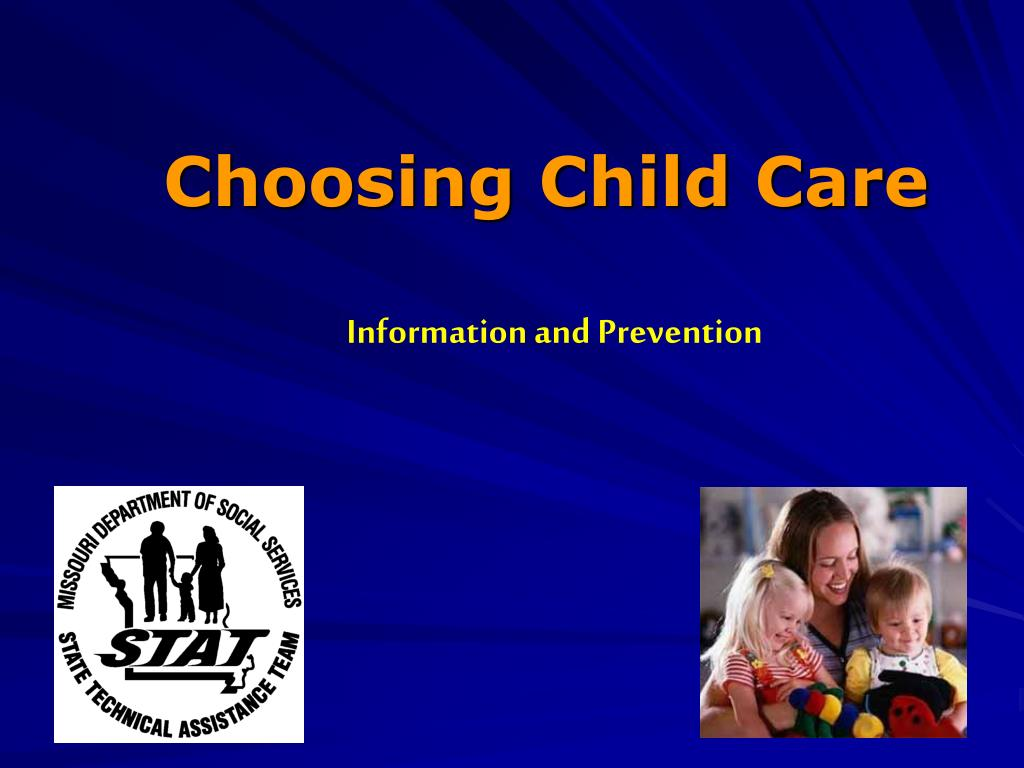 choosing child care l.