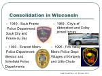 consolidation in wisconsin