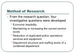 method of research