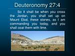 deuteronomy 27 4