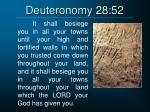 deuteronomy 28 52