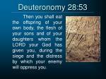 deuteronomy 28 53