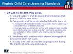 virginia child care licensing standards10