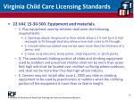 virginia child care licensing standards12