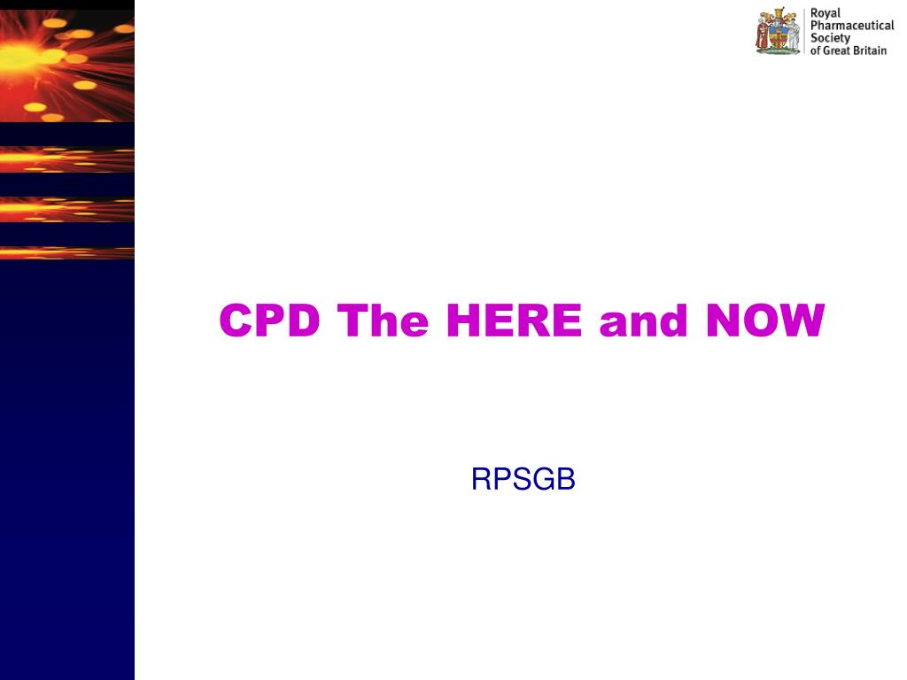 cpd the here and now l.