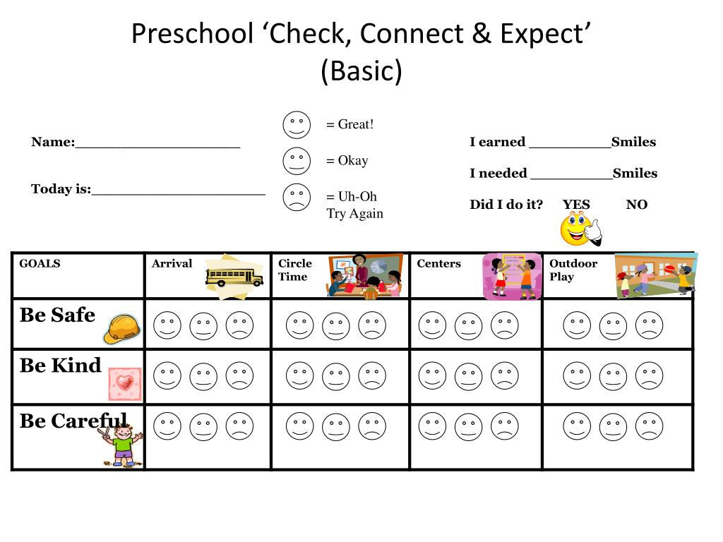 preschool check connect expect basic l.