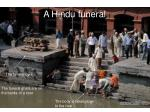 a hindu funeral