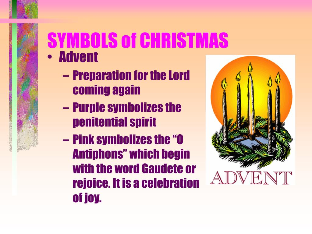 symbols of christmas l.