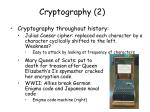 cryptography 2