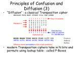 principles of confusion and diffusion 3