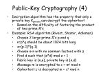 public key cryptography 4