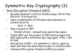 symmetric key cryptography 3