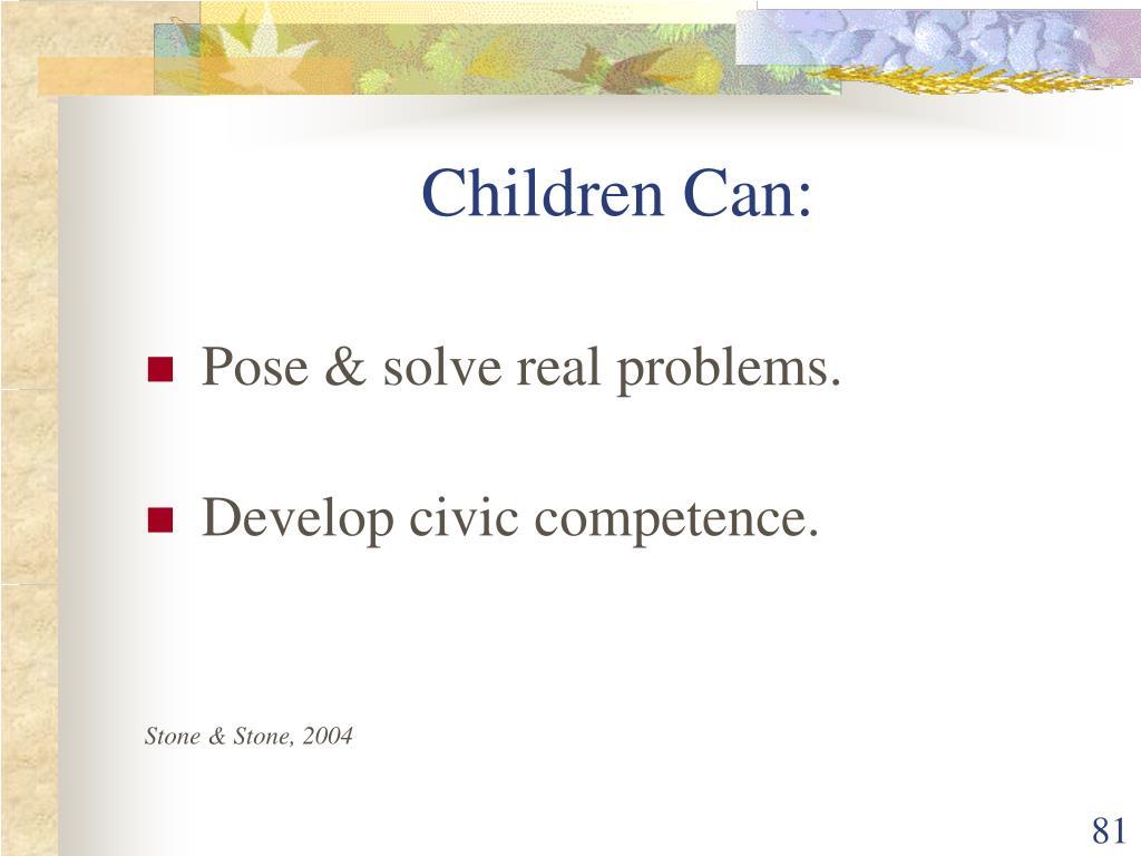 Children Can: