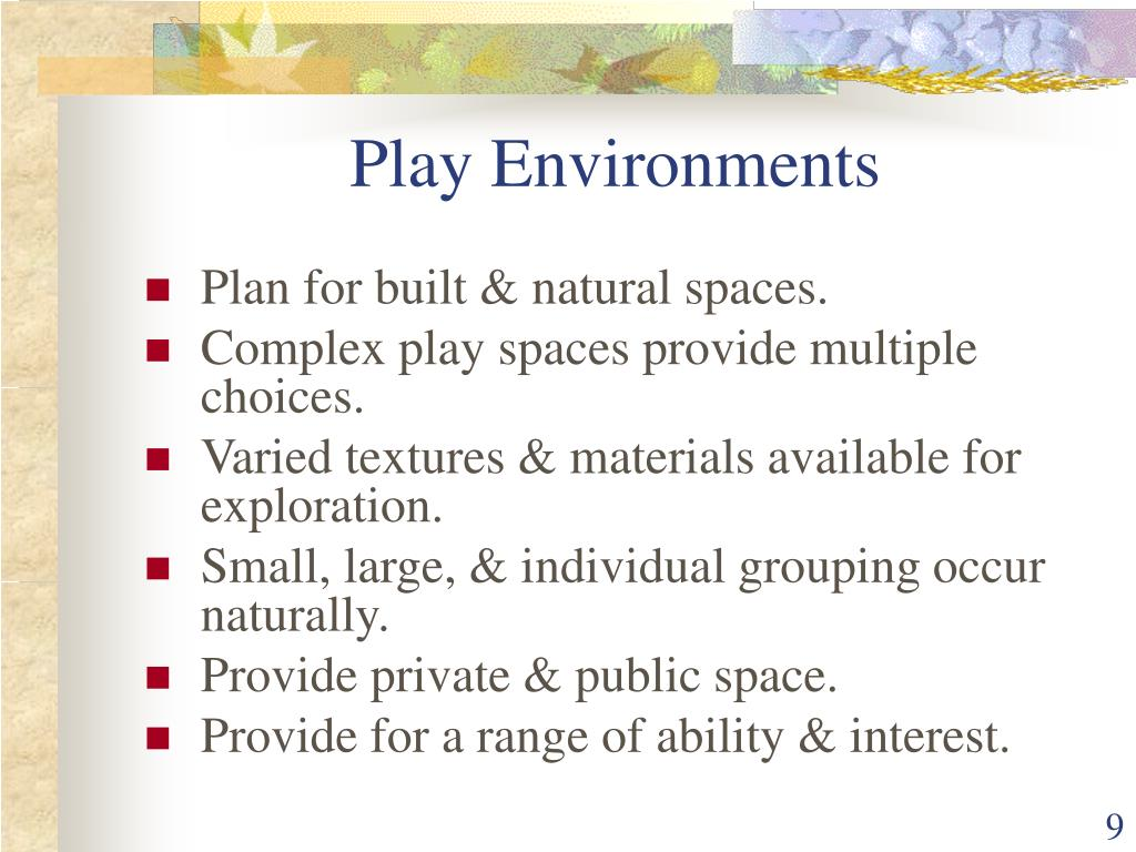 Play Environments