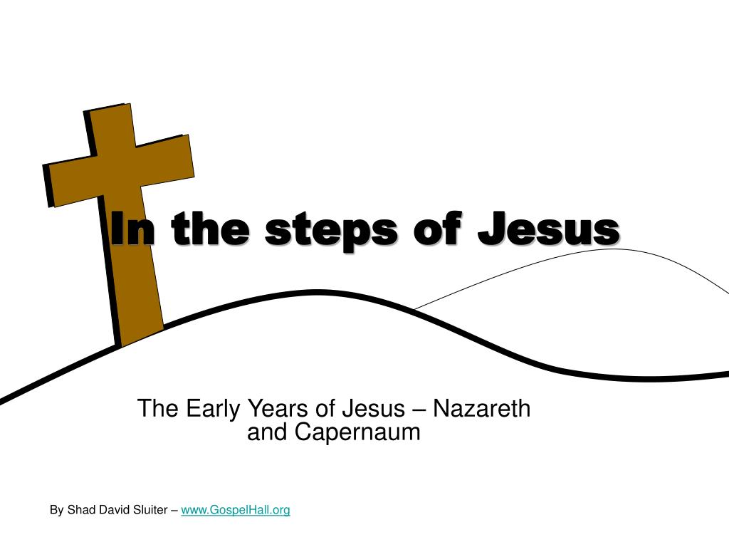 in the steps of jesus l.