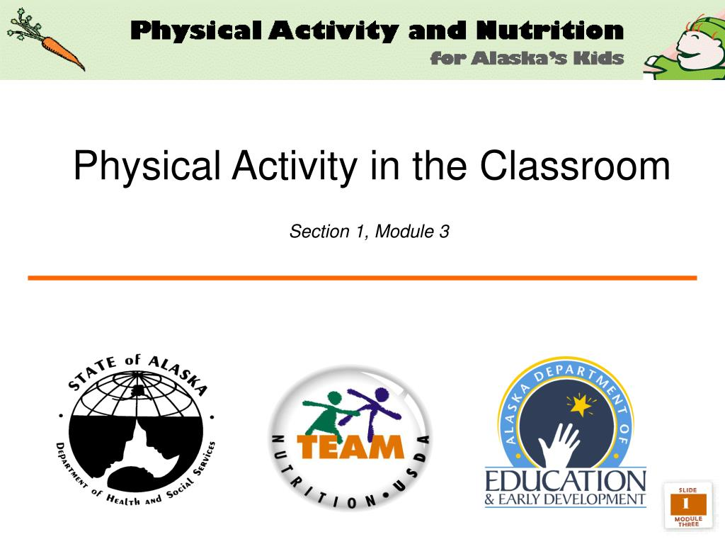 physical activity in the classroom section 1 module 3 l.