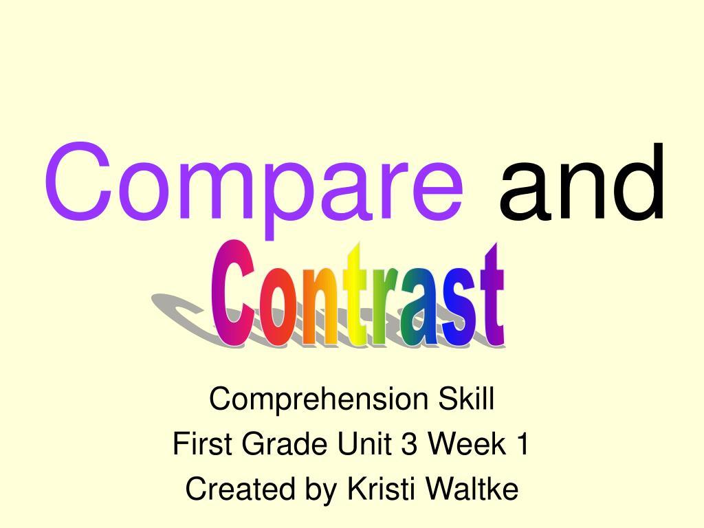 compare and l.