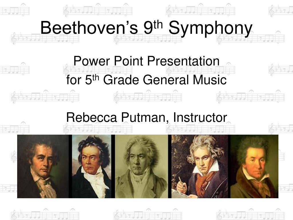 beethoven s 9 th symphony l.