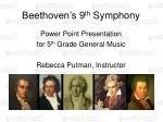 beethoven s 9 th symphony