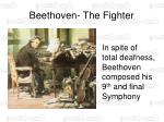 beethoven the fighter