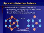 symmetry detection problem