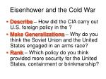 eisenhower and the cold war34